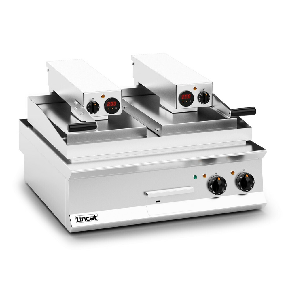 Lincat Opus 800 Electric Counter Top Clam Griddle Flat