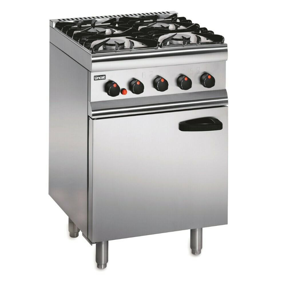 Lincat Silverlink 600 Natural Gas Free-standing Oven Range