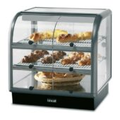 Lincat Seal 650 Series Counter-top Curved Front Ambient Merchandiser - Self-Service - W 750 mm - 0.02 kW