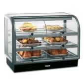 Seal 650 Series Counter-top Curved Front Heated Merchandiser - Self-Service - W 1000 mm - 2.02 kW