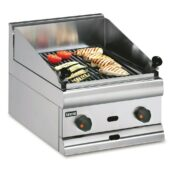 Lincat Silverlink 600 Natural Gas Counter-top Chargrill - W 450 mm - 16.4 kW