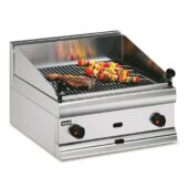 Silverlink 600 Natural Gas Counter-top Chargrill - W 600 mm - 16.4 kW