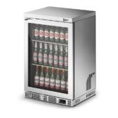 IMC Mistral M60 Bottle Cooler [Front Load] - Glass Door - Silver Painted Frame - H 900 mm - W 600 mm - 0.225 kW