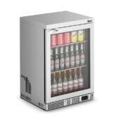 IMC Mistral M60 Bottle Cooler [Front Load] - Glass Door - Stainless Steel Frame - H 850 mm - W 600 mm - 0.225 kW