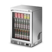 IMC Mistral M60 Bottle Cooler [Front Load] - Glass Door - Silver Painted Frame - H 850 mm - W 600 mm - 0.225 kW