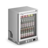 IMC Mistral M60 Bottle Cooler [Front Load] - Glass Door - Stainless Steel Frame - H 800 mm - W 600 mm - 0.225 kW
