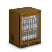 IMC Mistral M60 Bottle Cooler [Front Load] - Glass Door - Brown Painted Frame - H 800 mm - W 600 mm - 0.225 kW