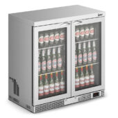 IMC Mistral M90 Bottle Cooler [Front Load] - High Ambient - Glass Door - Stainless Steel Frame - H 900 mm - W 900 mm - 0.354 kW
