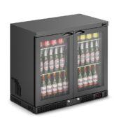 IMC Mistral M90 Bottle Cooler [Front Load] - Glass Door - Black Painted Frame - H 800 mm - W 900 mm - 0.232 kW