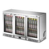 IMC Mistral M135 Bottle Cooler [Front Load] - Glass Door - Silver Painted Frame - H 800 mm - W 1350 mm - 0.357 kW