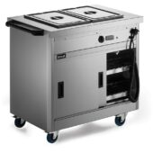 Panther 670 Series Free-standing Hot Cupboard - Bain Marie Top - 2GN - W 980 mm - 2.6 kW
