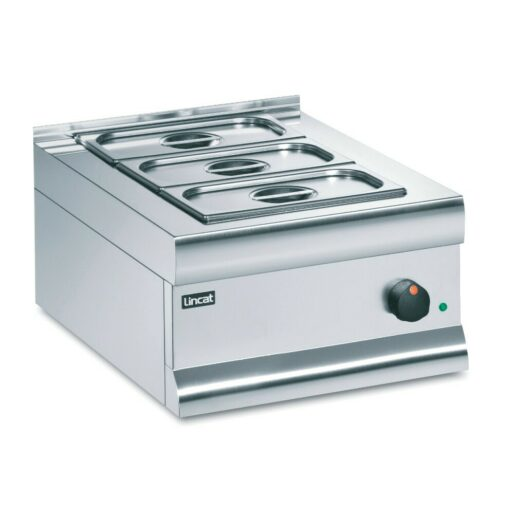 Lincat Silverlink 600 Electric Counter-top Bain Marie - Dry Heat - Gastronorms - Base + Dish Pack - W 450 mm - 0.75 kW