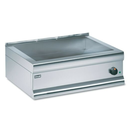 Lincat Silverlink 600 Electric Counter-top Bain Marie - Dry Heat - Gastronorms - Base only - W 750 mm - 1.0 kW