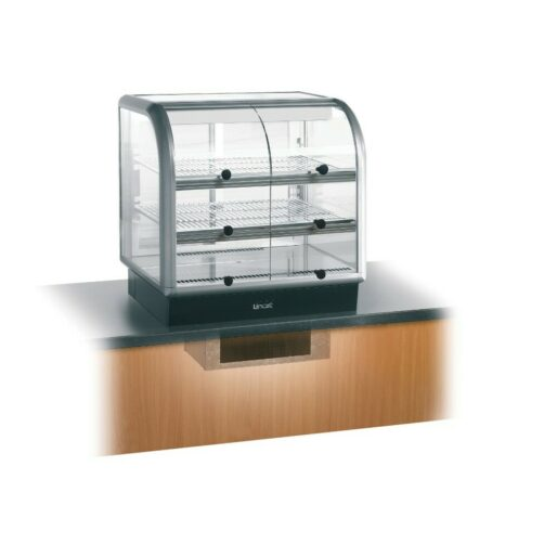 Lincat Seal 650 Series Counter-top Curved Front Refrigerated Merchandiser - Self-Service - Under-Counter Power Pack - W 750 mm - 0.6 kW