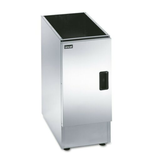 Lincat Silverlink 600 Free-standing Ambient Open-Top Pedestal with Doors - W 300 mm