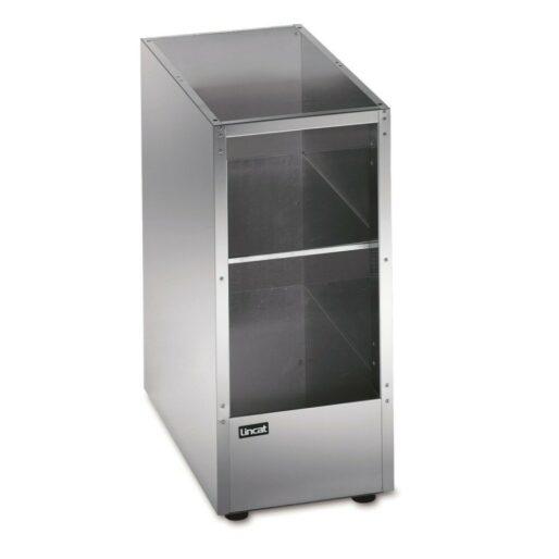 Lincat Silverlink 600 Free-standing Ambient Open-Top Pedestal without Doors - W 300 mm