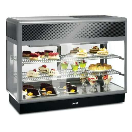 Seal 650 Series Counter-top Rectangular Front Refrigerated Merchandiser - Back-Service - W 1250 mm - 0.7 kW
