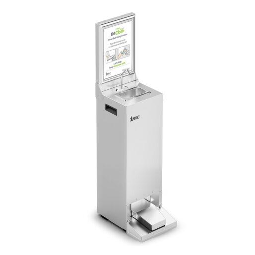 IMC IMClean Junior Reduced Height Mobile Hand Sanitising Station