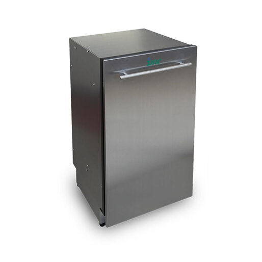 IMC M400CC Mini Waste Compactor - with Can Crush - W 400 mm - 0.18 kW