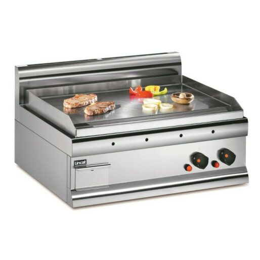Lincat Silverlink 600 Propane Gas Counter-top Griddle - Steel Plate - W 750 mm - 8.0 kW