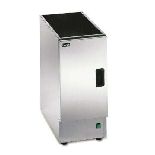 Lincat Silverlink 600 Free-standing Heated Open-Top Pedestal with Doors - W 300 mm - 0.25 kW