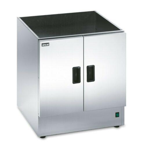 Lincat Silverlink 600 Free-standing Heated Open-Top Pedestal with Doors - W 600 mm - 0.5 kW