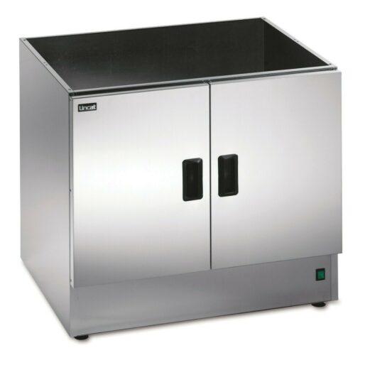 Lincat Silverlink 600 Free-standing Heated Open-Top Pedestal with Doors - W 750 mm - 0.5 kW