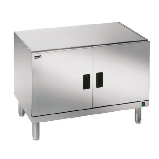 Lincat Silverlink 600 Free-standing Heated Pedestal with Legs and Doors - W 900 mm - 1.0 kW