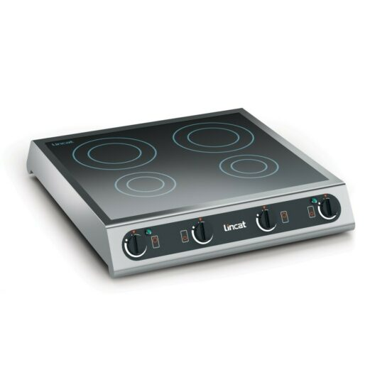 Lincat Electric Counter-top Induction Hob - 4 Zones - W 600 mm - 6.0 kW