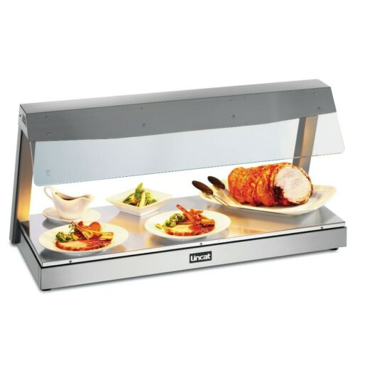 Lincat Seal Counter-top Heated Display with Gantry - 3 x 1/1 GN - W 1130 mm - 2.4 kW