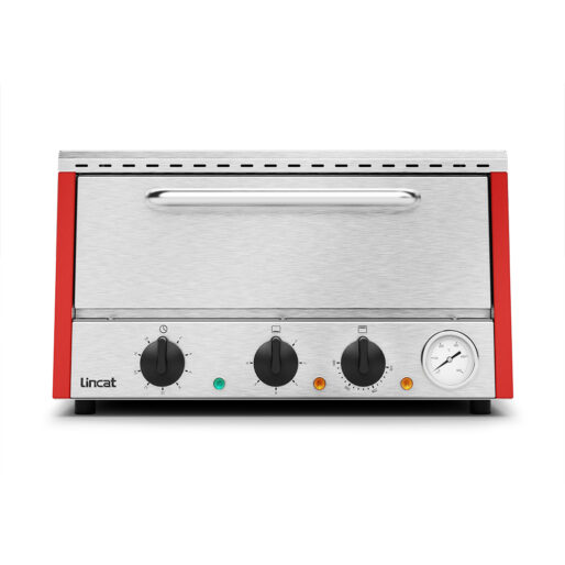 Lincat Lynx 400 Electric Counter-top Pizza Oven - Single-Deck - Red - W 530 mm - 2.2 kW