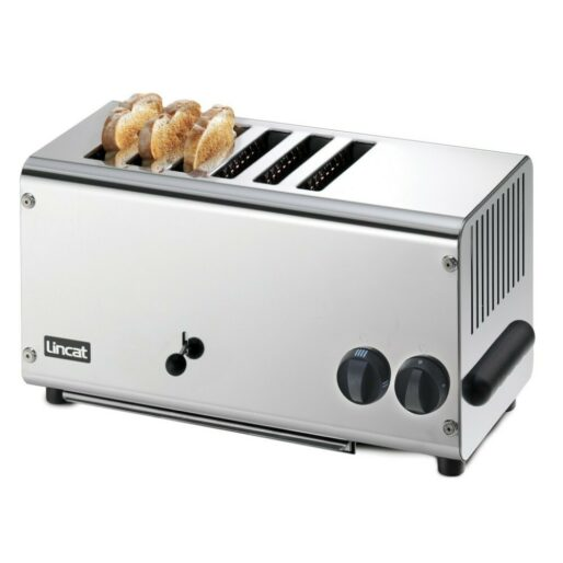 Lincat Electric Counter-top Slot Toaster - 6 Slots - W 482 mm - 3.0 kW
