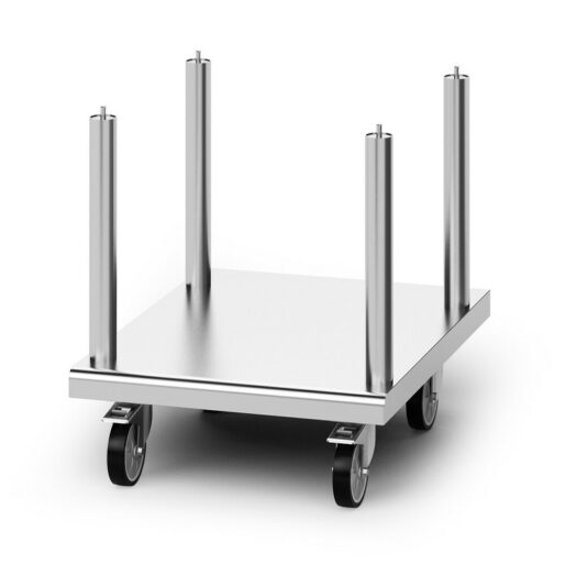 Opus 800 Free-standing Floor Stand with Castors - for Synergy Grill W 600 mm