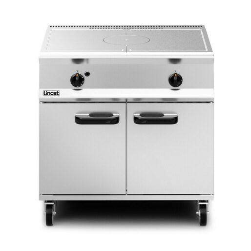 Lincat Opus 800 Propane Gas Free-standing Solid Top Oven Range - W 900 mm - 19.0 kW