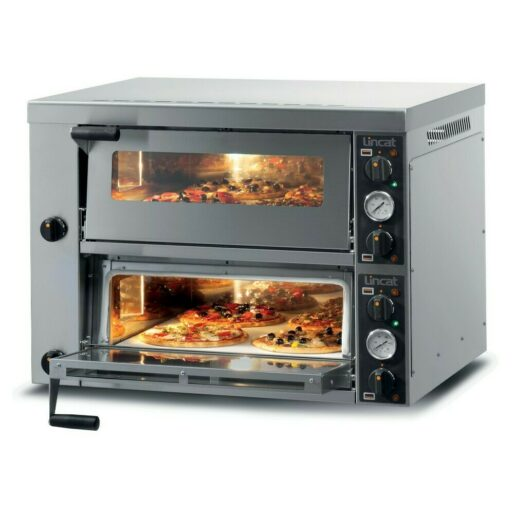 Lincat Electric Counter-top Pizza Oven - Twin-Deck - W 886 mm - 6.0 kW