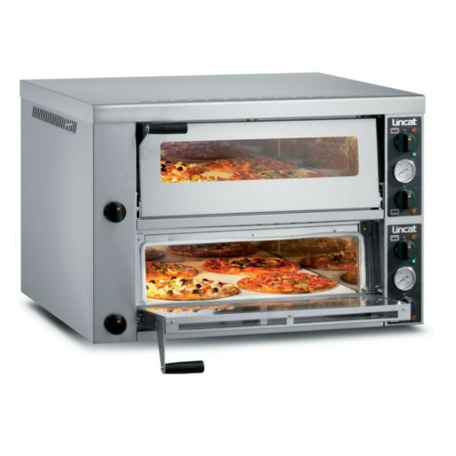 Lincat Electric Counter-top Pizza Oven - Twin-Deck - W 966 mm - 8.4 kW