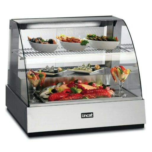 Seal Counter-top Refrigerated Food Display Showcase - W 785 mm - 0.602 kW