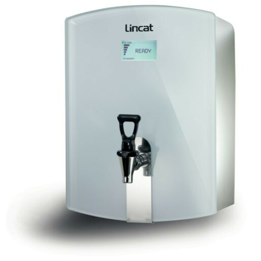 Lincat FilterFlow WMB Wall Mounted Automatic Fill Boiler - White Glass - W 300 mm - 3.0 kW