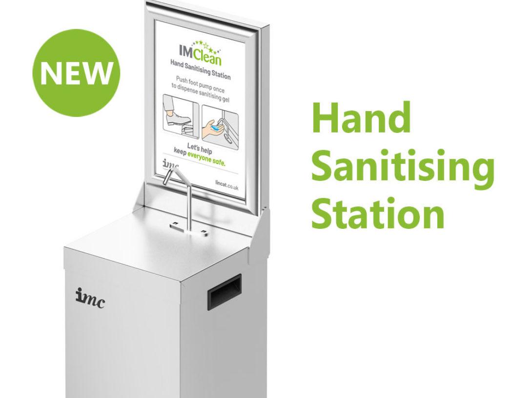 Hand Sanitising Station Banner